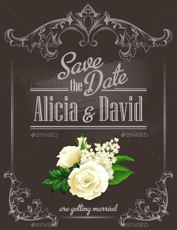 GraphicRiver Save the Date 10512507