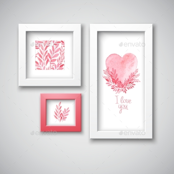 GraphicRiver Valentine s Day Frames 10512548