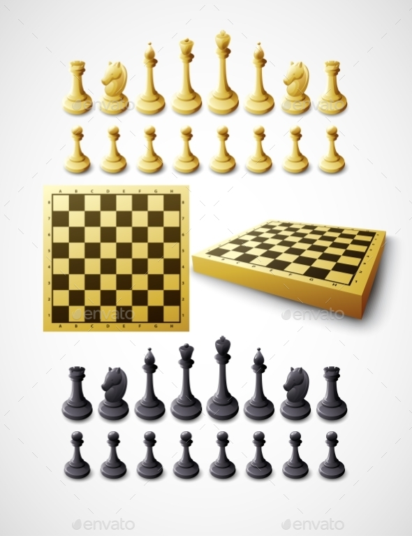GraphicRiver Chess Set 10512592