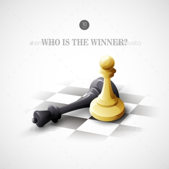 GraphicRiver Winning Chess Concept 10512599