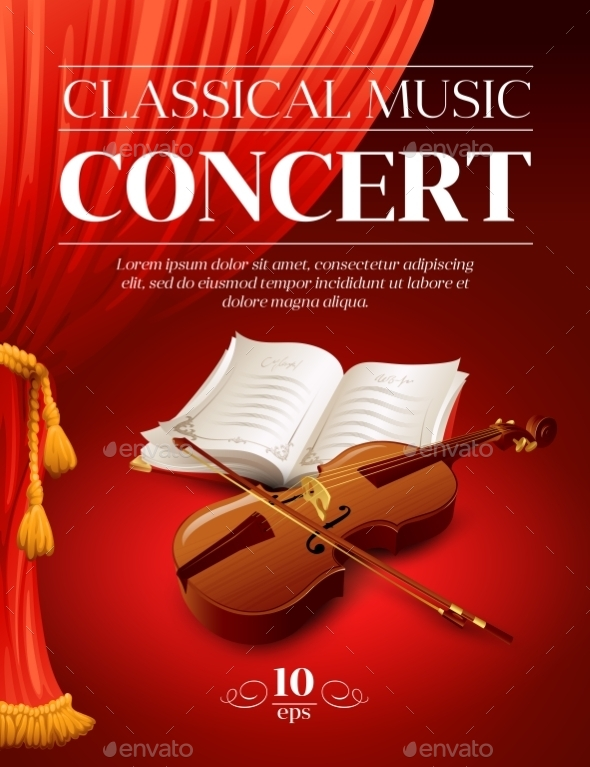 GraphicRiver Classical Music Concert Poster 10512622