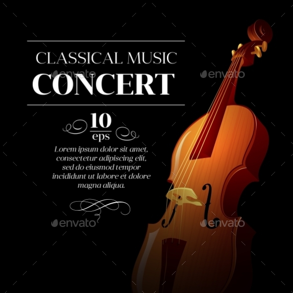 GraphicRiver Classical Music Concert Poster 10512743