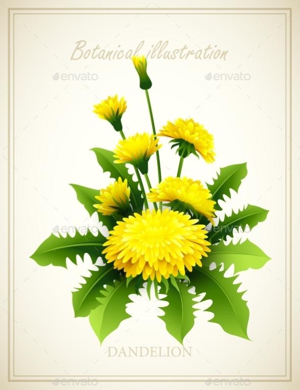 GraphicRiver Flower Illustration 10512827