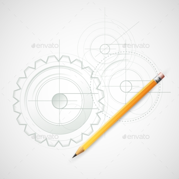 GraphicRiver Background Drawing with Pencil 10512859