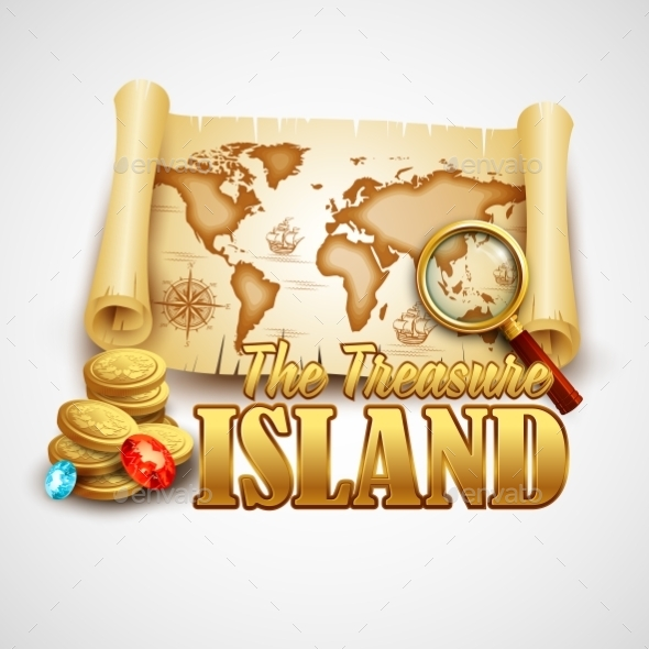 GraphicRiver Treasure Island 10512873