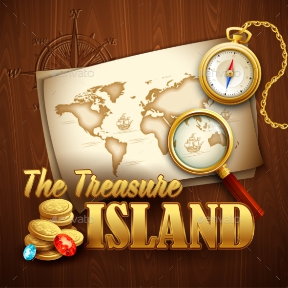 GraphicRiver Treasure Island 10512877