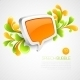 Speech Bubble with Swirls  - GraphicRiver Item for Sale