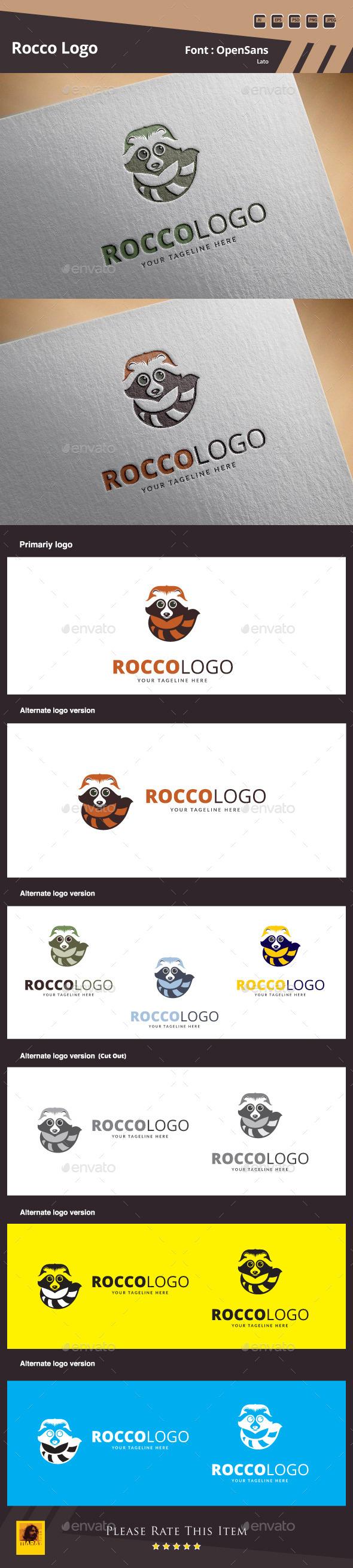 GraphicRiver Rocco Logo Template 10513154