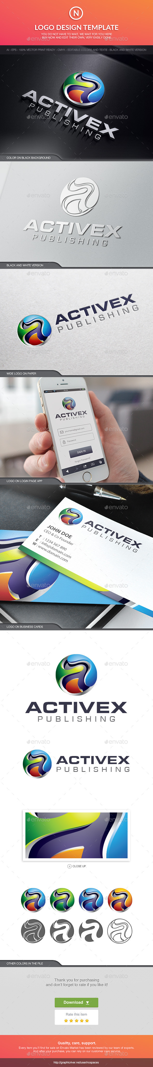GraphicRiver Activex Technology 10513968