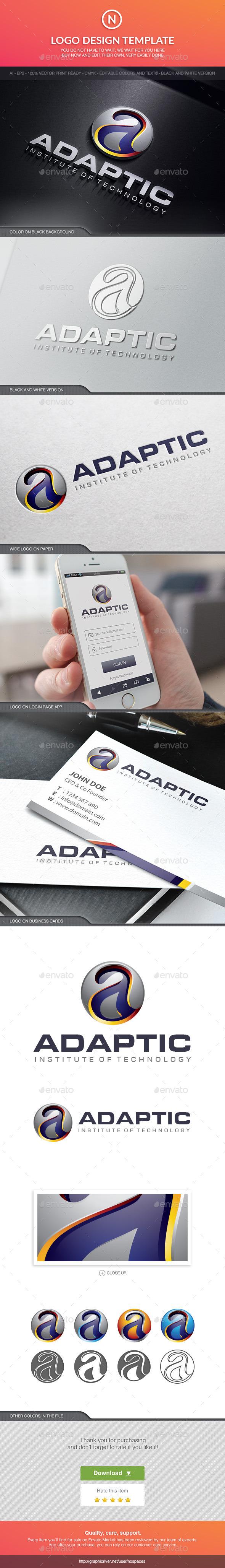 GraphicRiver Adaptic Institute 10513993