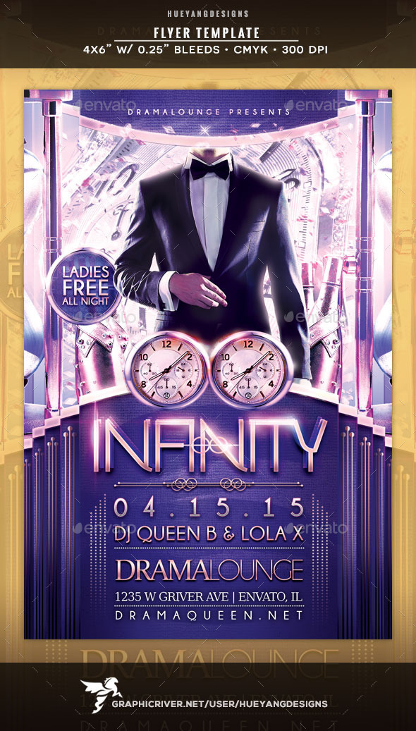 GraphicRiver Infinity Flyer 10514052