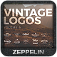 Vintage Logos Set 5 - GraphicRiver Item for Sale