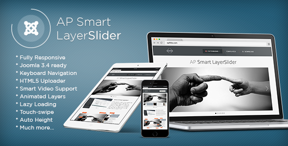 CodeCanyon AP Smart LayerSlider Joomla Module 10514117