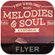 Melodies & Soul Flyer/Poster - GraphicRiver Item for Sale