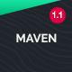 Maven - One Page Portfolio Joomla Template - ThemeForest Item for Sale