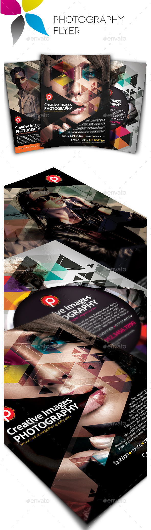 GraphicRiver Photography Flyer 10514414