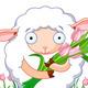 Spring Sheep - GraphicRiver Item for Sale