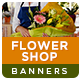 Flower Shop Banners - GraphicRiver Item for Sale