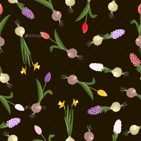 GraphicRiver Flowers Pattern 10514550