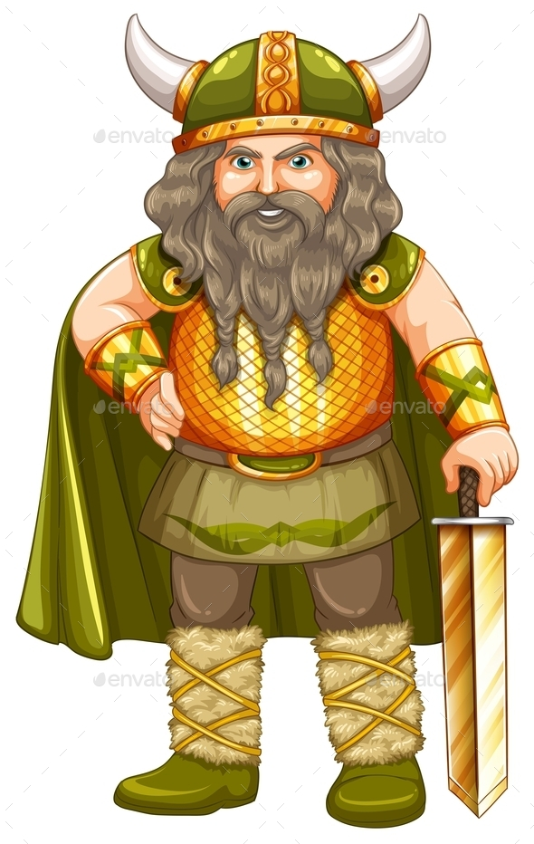 GraphicRiver Viking Warrior 10514555