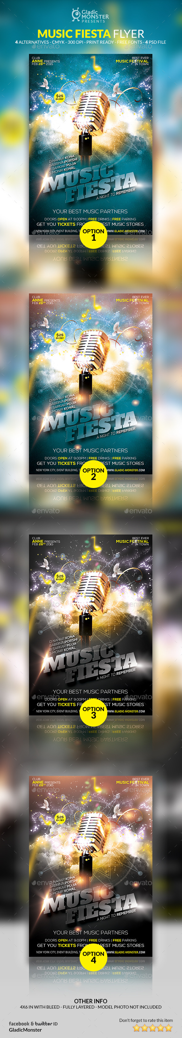 GraphicRiver Music Fiesta 10514557