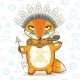 Indian Fox  - GraphicRiver Item for Sale