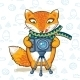 Fox Photographer  - GraphicRiver Item for Sale