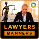 Lawyers Banners - GraphicRiver Item for Sale