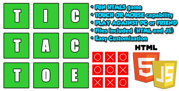 CodeCanyon Classic TIC TAC TOE 10514629