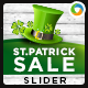 St Patrick Day Sale Slider - GraphicRiver Item for Sale