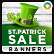 St Patrick Day Sale Banners - GraphicRiver Item for Sale
