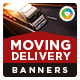 Delivery Banners - GraphicRiver Item for Sale