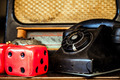 Vintage Telephone and Dice - PhotoDune Item for Sale