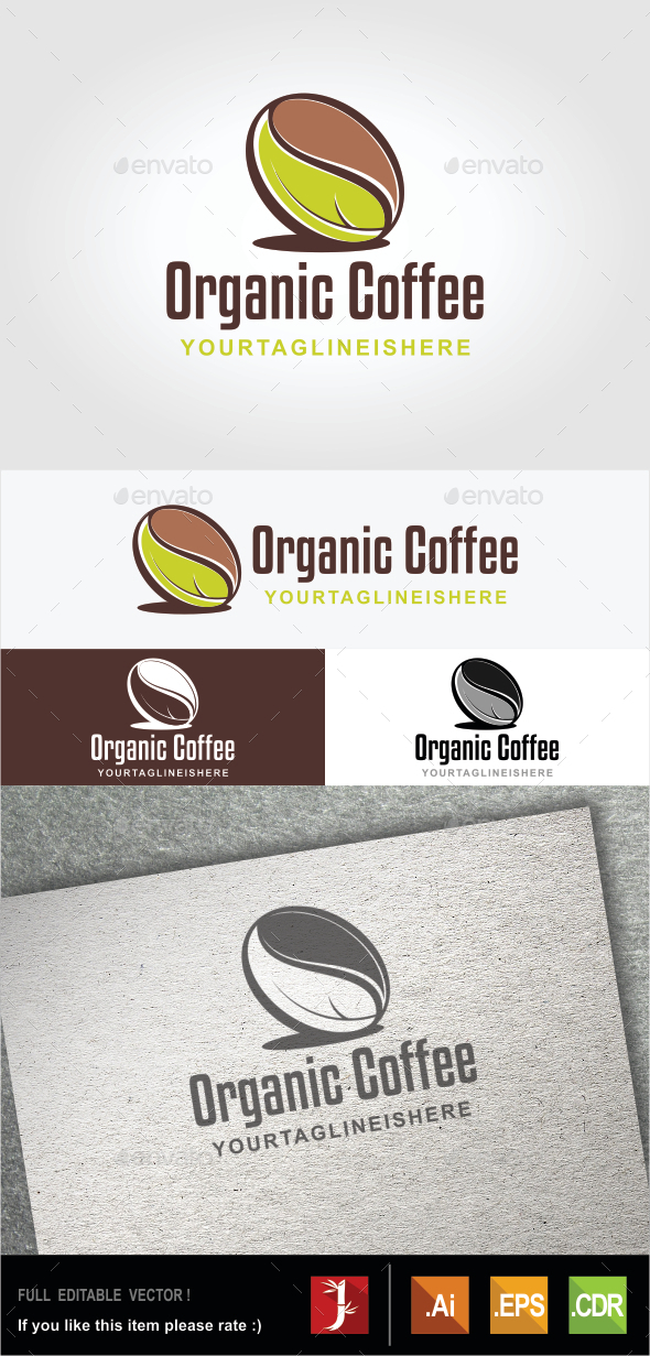 GraphicRiver Organic Coffee 10516853