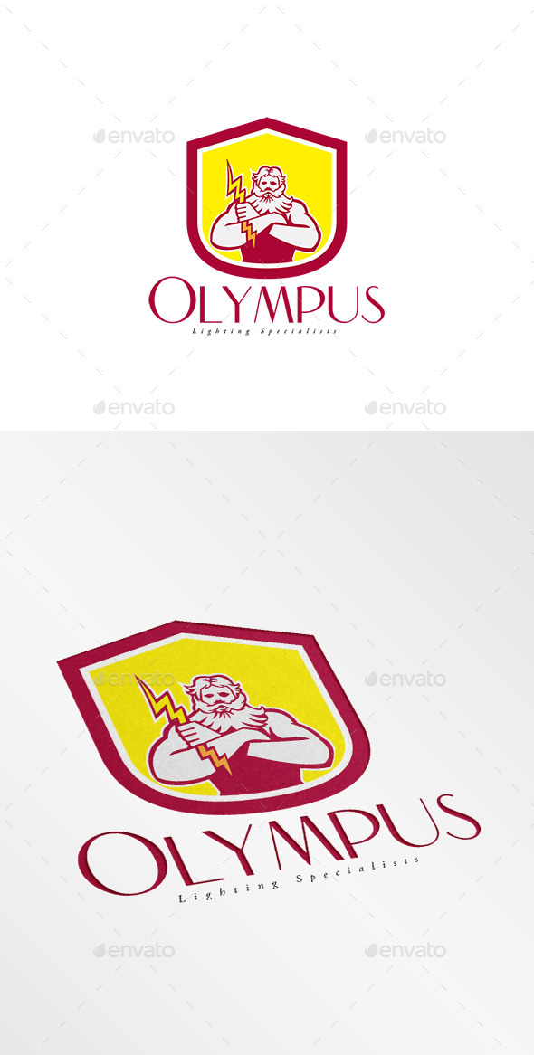 GraphicRiver Olympus Lighting Specialist Logo 10516883