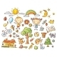 Doodle Set of Objects from a Child's Life - GraphicRiver Item for Sale