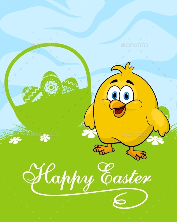 GraphicRiver Easter Card 10518690