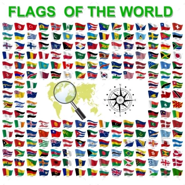 GraphicRiver Flags of the World 10518755