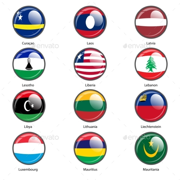 GraphicRiver Flags of the World 10518758