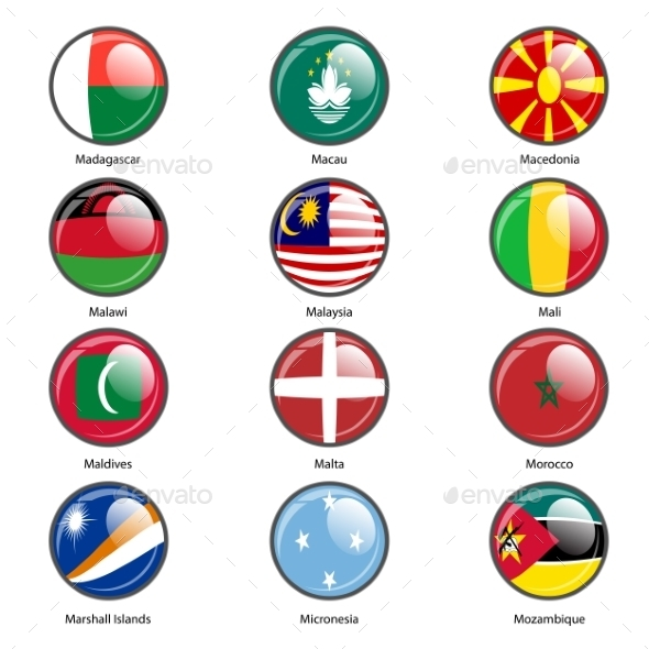 GraphicRiver Flags of the World 10518765