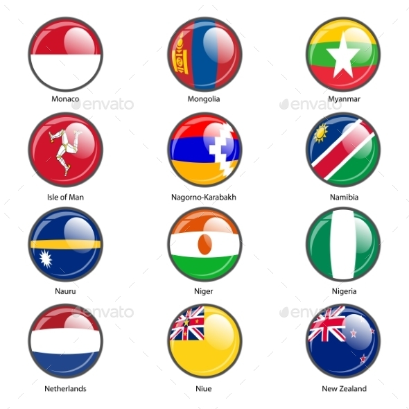 GraphicRiver Flags of the World 10518767