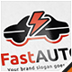 Fast Auto Car Logo - GraphicRiver Item for Sale