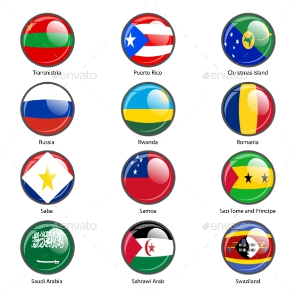 GraphicRiver Flags of the World 10518787