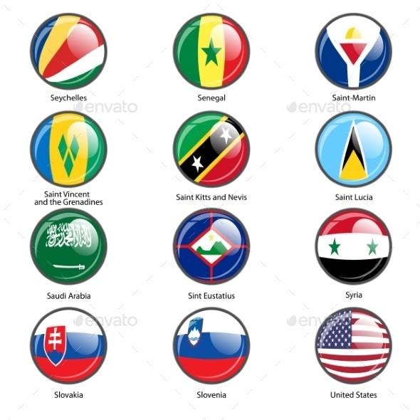 GraphicRiver Flags of the World 10518792