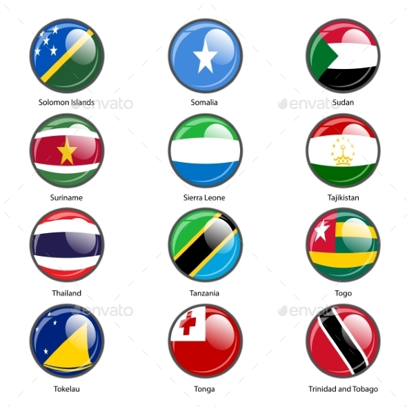 GraphicRiver Flags of the World 10518796