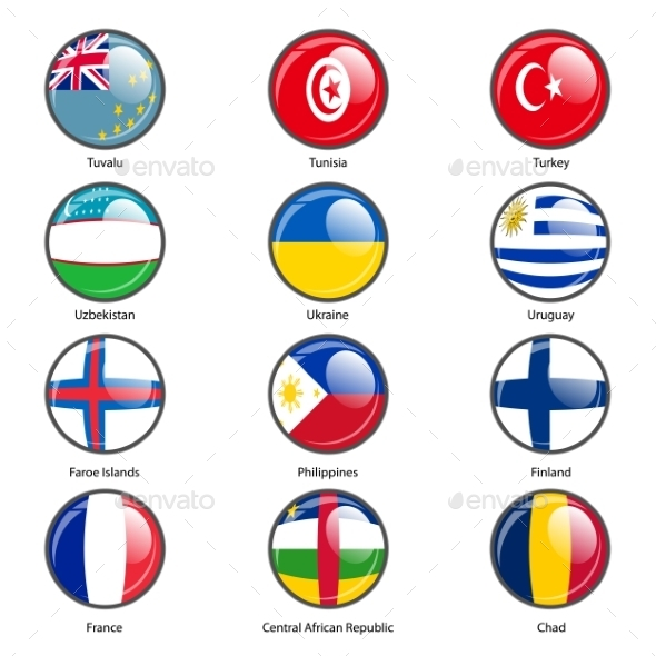 GraphicRiver Flags of the World 10518802