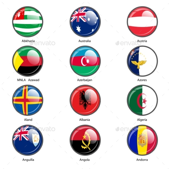 GraphicRiver Flags of the World 10518826