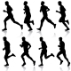 Running Silhouettes  - GraphicRiver Item for Sale