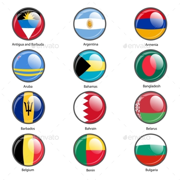 GraphicRiver Flags of the World 10518836