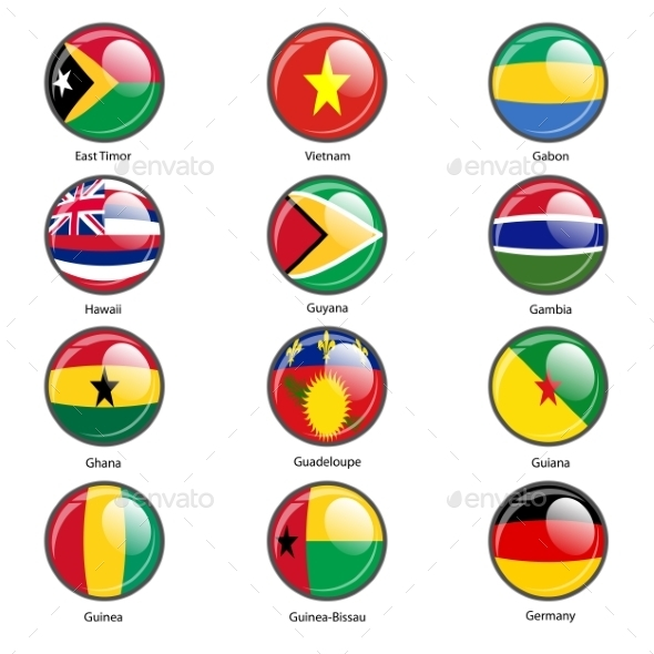 GraphicRiver Flags of the World 10518846